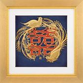 """金箔畫 純金""""真愛系列"""" 鳳凰于飛【比翼雙飛】結婚禮品"""
