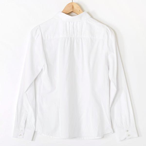 【MASTINA】蝴蝶結彼得潘領襯衫-白 好康優惠