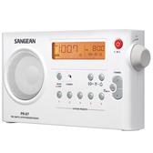 山進 SANGEAN PR-D7  FM/AM 二波段 數位液晶顯示充電收音機  【公司貨】