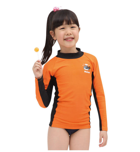 ≡MARIUM≡  兒童半身水母衣-橘 MAR-2809
