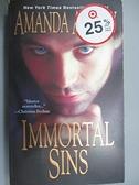 【書寶二手書T7/原文小說_BIH】Immortal Sins_Amanda Ashley, Amanda Ashley