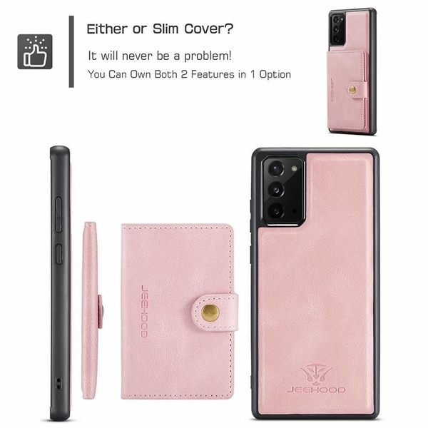 蘋果 12 手機殼 iPhone 12 Pro max 12 mini i11 Pro 背蓋磁吸卡夾 可拆卸 手機殼 防滑 悠遊卡套 商務兩用殼