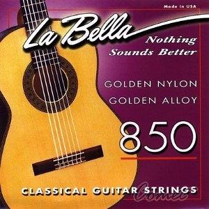 【古典吉他弦】【La Bella  850】【 中高張力】【Tension 簽名專用古典吉他弦】