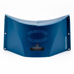 PATATTO 超輕量攜帶式折疊椅 藍色 日本品牌 收納椅 可折平 排隊神器