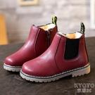 新款保暖兒童雪地靴女童靴子 2019冬季加厚男童短靴寶寶馬丁靴潮  京都3C
