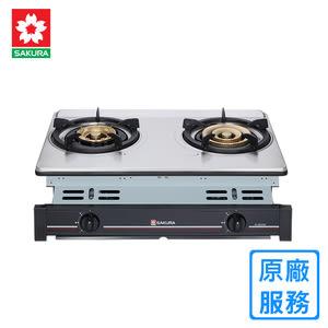【櫻花】G-6600KS 炒翻天安全嵌入爐(三環爐)-天然瓦斯