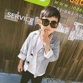 兒童春裝新款3-5歲男童小女孩防曬墨鏡幼兒園寶寶太陽鏡