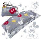 米奇 經典美式 精梳棉 兒童睡袋 鋪棉冬...