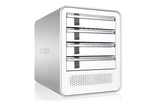 [NOVA成功3C] ICY DOCK ICYCube MB561U3S-4S四層式USB 3.0 & eSATA硬碟外接盒 喔!看呢來
