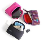 【A Shop】 BUILT NY Soft Shell相機包 E-SSC系列-紫紅/小彩點/黑/夏日花/格子