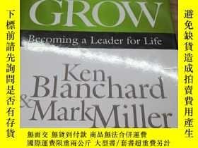 二手書博民逛書店great罕見leaders grow ken blanchar
