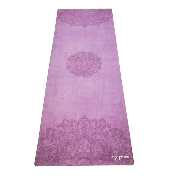 【YogaDesignLab】Combo Mat 天然橡膠瑜珈墊3.5mm - Mandala Purple