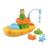 法國Smoby兒童釣魚船 戲水男孩女孩嬰兒1-2-3歲 寶寶洗澡玩具