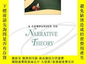 二手書博民逛書店A罕見Companion To Narrative Theory (blackwell Companions To