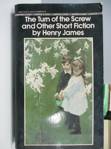 【書寶二手書T5/原文小說_AC5】The Turn of the Screw and Other Short Fiction_Henry James