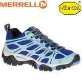 【MERRELL 美國 女款 MOAB BDGE 藍】ML35524/越野鞋/休閒鞋/登山鞋/運動鞋/健行★滿額送