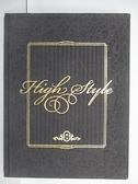【書寶二手書T3/藝術_EKL】High Style