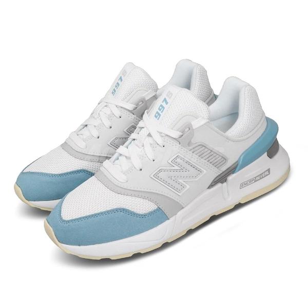 New Balance 休閒鞋 NB 997S 白 藍 女鞋 運動鞋 復古慢跑鞋 【PUMP306】 WS997GFKB