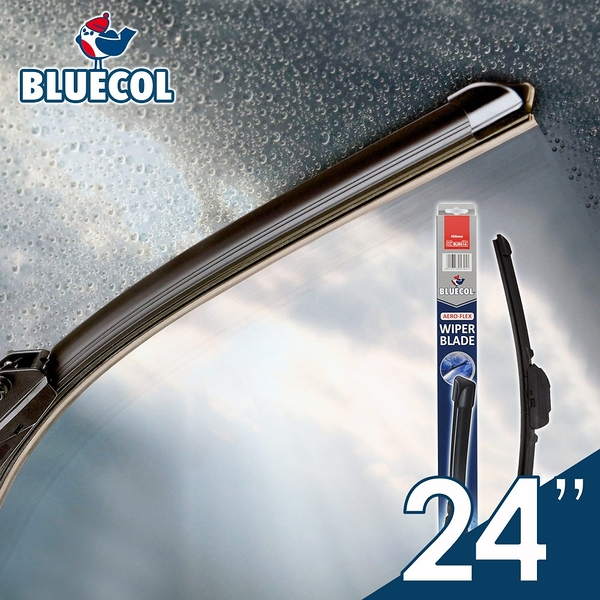 BLUECOL藍雀Aero-Flexible高彈性氣動軟骨雨刷24吋(610mm)