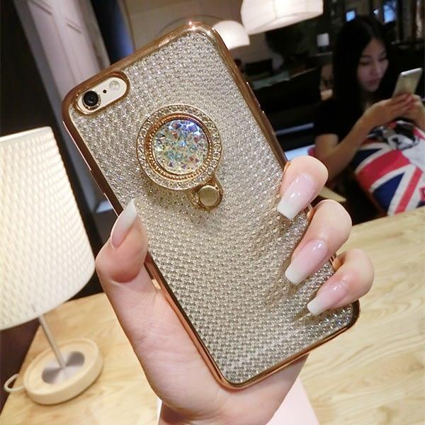 【SZ62】創意折疊寶石鑽石手機支架 指環支架 扣環支架 防丟懶人防摔支架