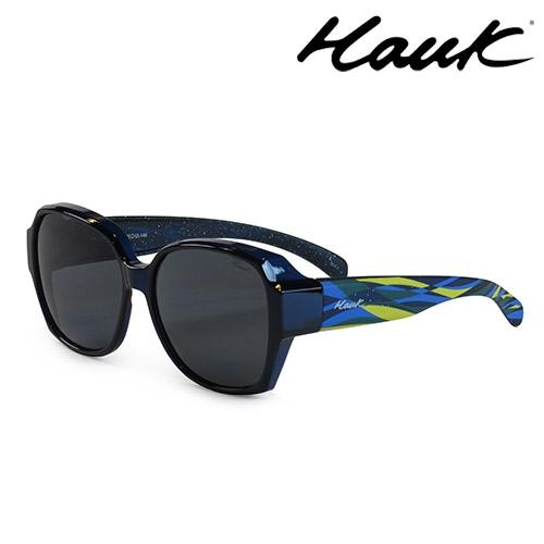 HAWK 新型薄框偏光太陽眼鏡套鏡(2用)HK1025-101
