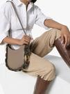 ■專櫃83折■ 全新真品■Chloe Darryl 小號紋理小牛皮小手袋 灰色