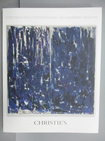 【書寶二手書T7/收藏_EXL】Christie s_Post-war and…Session_2015/11/11