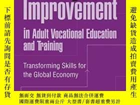 二手書博民逛書店Quality罕見Improvement In Adult Vocational Education And Tr