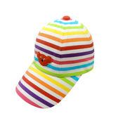 WHY AND 1/2 條紋棉質棒球帽