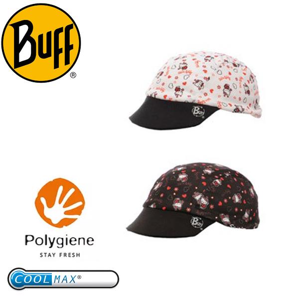 【BUFF 西班牙 瓢蟲Kitty COOLMAX兒童雙面遮陽帽】BF22659/排汗/雙面/COOLMAX