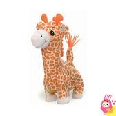 Hamee 日本 Pocket Animal 療癒玩偶 可行走 動物模聲 幼兒音樂娃娃( 長頸鹿 ) 317761