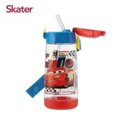 Skater PET吸管水壺(480ml)CARS-紅藍[衛立兒生活館]
