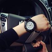 【黑色星期五】運動大表盤學生手表時尚潮流行正韓原宿風女