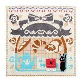 日本魔女宅急便黑貓吉吉藍色烘培屋純綿小方巾989257