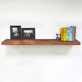 層板 (蘋果木色90cm 附托架) /壁板/層架/掛牆書架/壁架/置物架/棚板/掛壁式/ &DIY組合傢俱