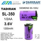 【久大電池】 TADIRAN SL-350 西門子 SIEMENS SL350 S5-100U 【工控電池】TA6