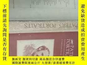二手書博民逛書店pater s罕見portraits 板牙的肖像(精裝 館藏)Y