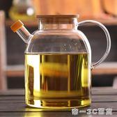 超大容量廚房油壺日式調味防漏大油瓶玻璃家用大號食用油罐蜂蜜罐【帝一3C旗艦】
