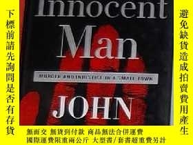 二手書博民逛書店英文原版罕見The Innocent Man by John G