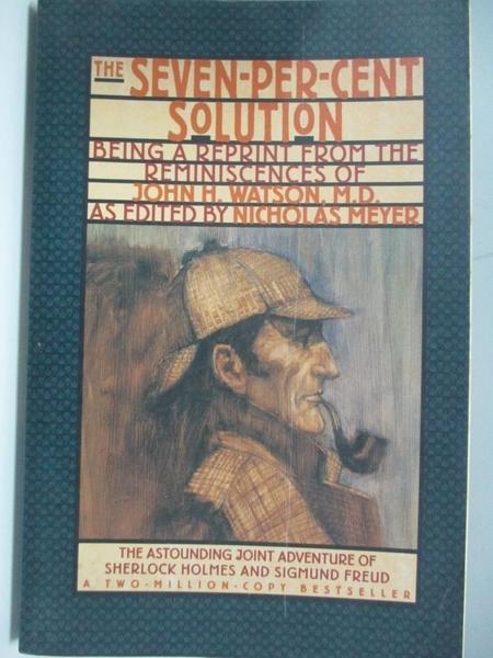 【書寶二手書T1/一般小說_ABA】The Seven-Per-Cent Solution-Being a..._Ledgard