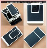 (BEAGLE) 真皮相機專用貼皮/蒙皮 Polaroid SX-70 model2 -黑色-可訂製其他顏色