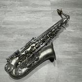 ~凱傑樂器~KJ VI NING Alto 鍍沙銀中音薩克斯風不含圖中吹嘴中古美品