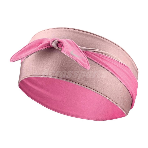 Nike 頭帶 Dry Bandana Head Tie 粉紅 綁式 頭巾 NBA 快乾 【ACS】 N000256262-0OS