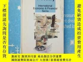 二手書博民逛書店Reuters罕見glossary international