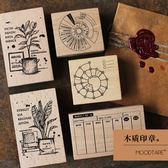 印章 琴葉榕 時間陀螺 天堂鳥 環形計劃 創意文具木質印章 預購商品