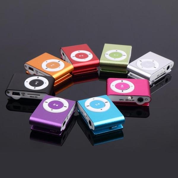 隨身聽 隨身聽夾子MP3無屏插卡MP3播放器迷你跑步運動MP3學生款MP3【快速出貨八折下殺】