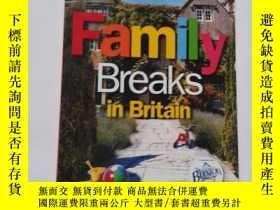 二手書博民逛書店FAMILY罕見BREAKS IN BRITAIN【582】Y1