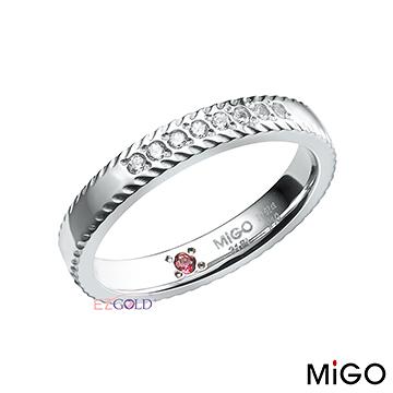 鋼飾戒指-光采(女)-MiGO鋼飾