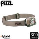 【PETZL 法國 TACTIKKA頭燈《沙漠》】E093HA02/300流明/頭燈/登山露營/手電筒/緊急照明