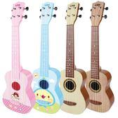 寶麗尤克里里初學者兒童迷你小吉他玩具可彈奏樂器1-3歲男孩
